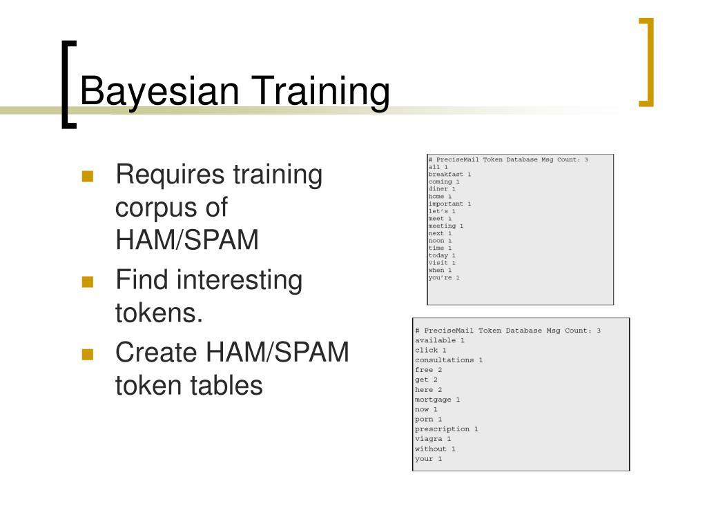 Bayesian Training