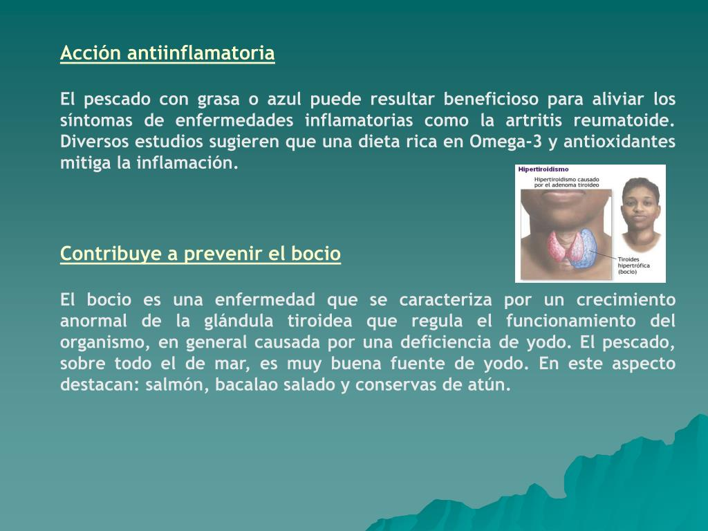Acción antiinflamatoria