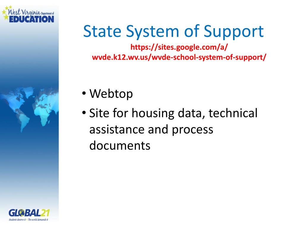 State System of Support