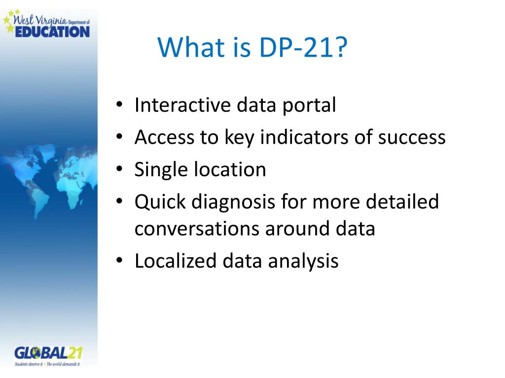 What is DP-21?