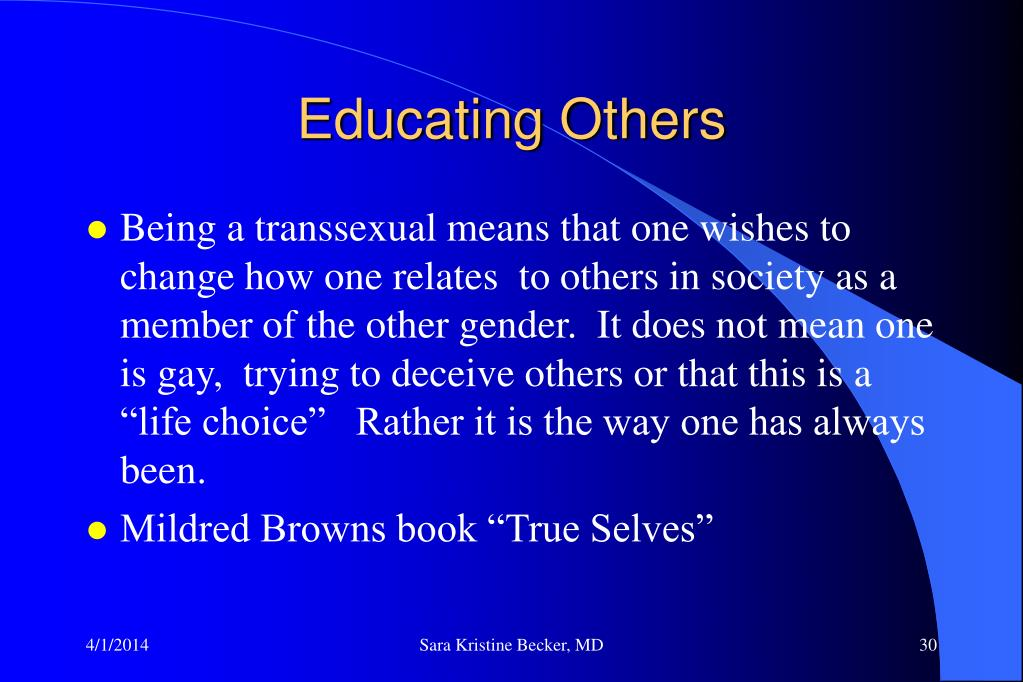Educating Others