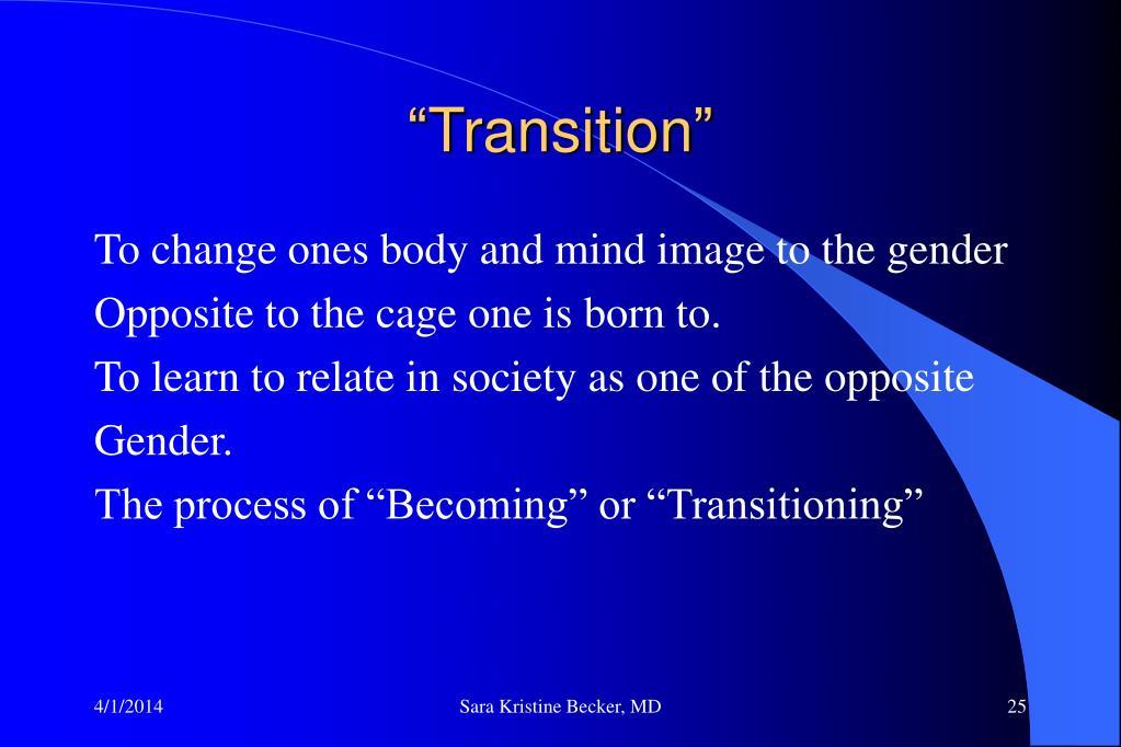 """Transition"""