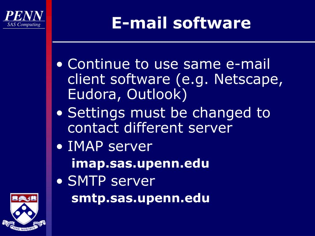 E-mail software