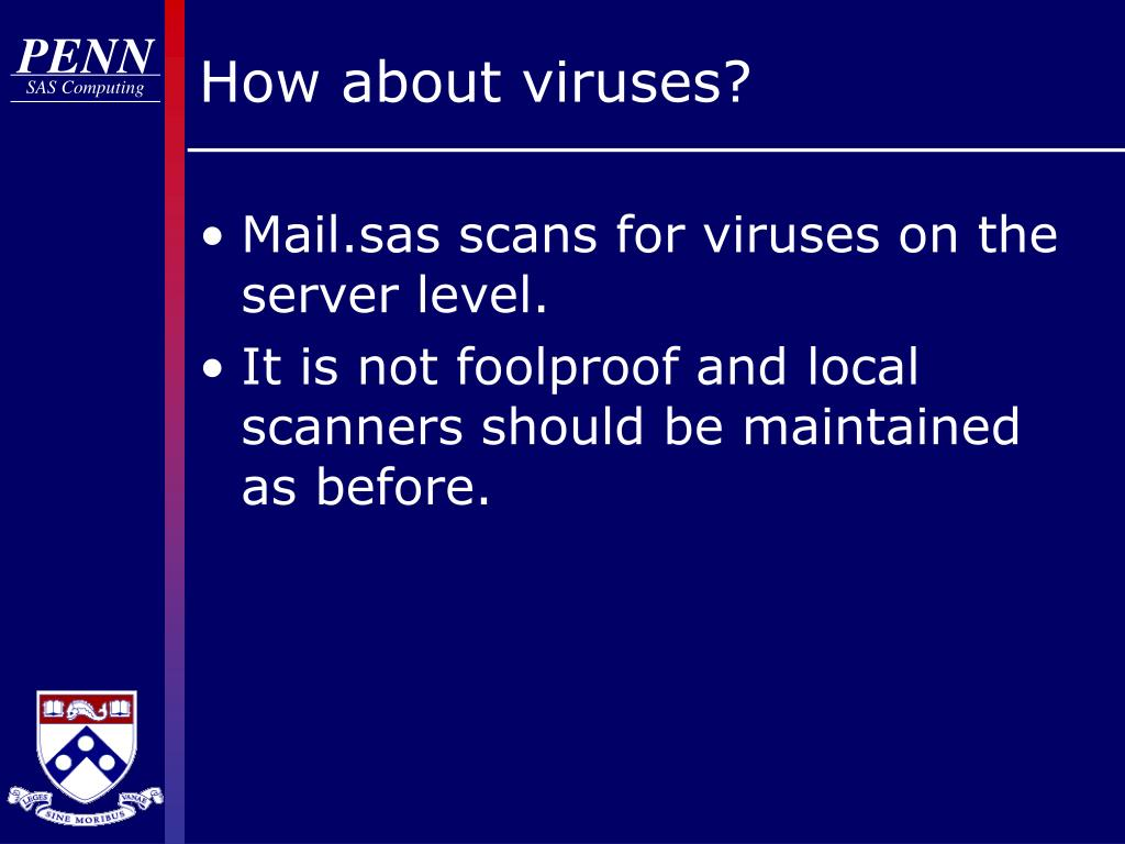 How about viruses?
