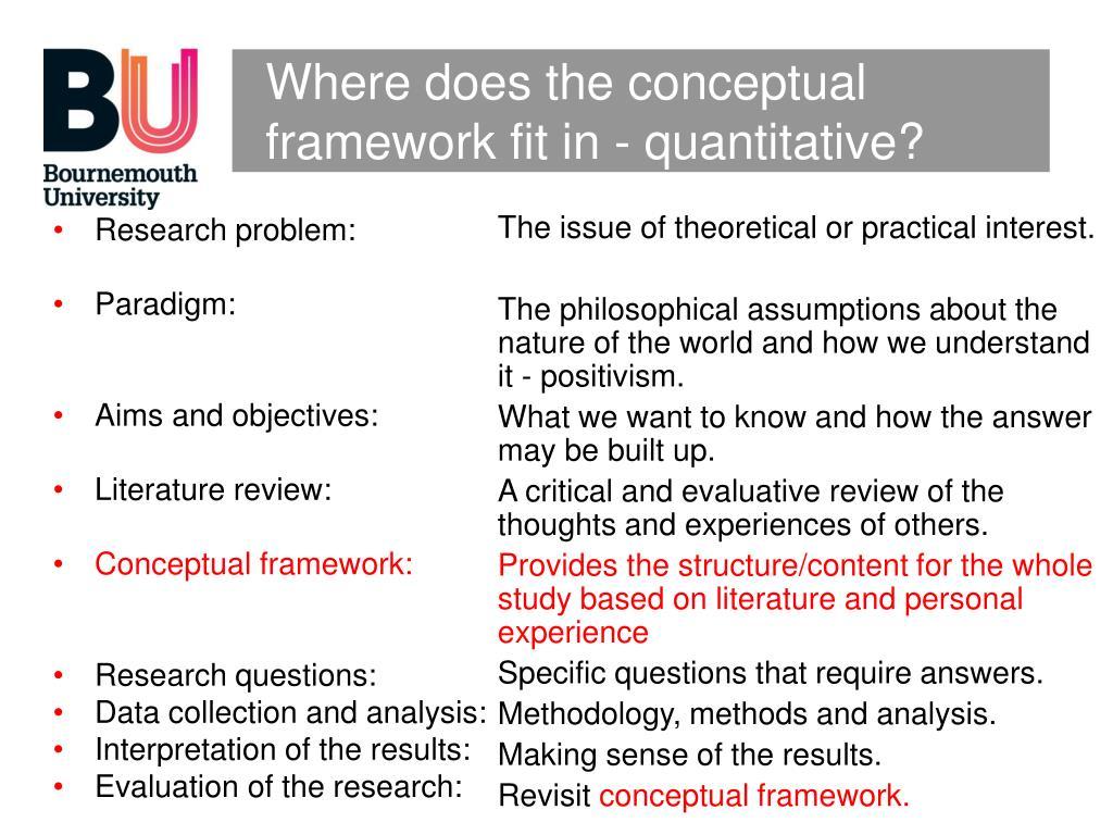 a review and a conceptual framework