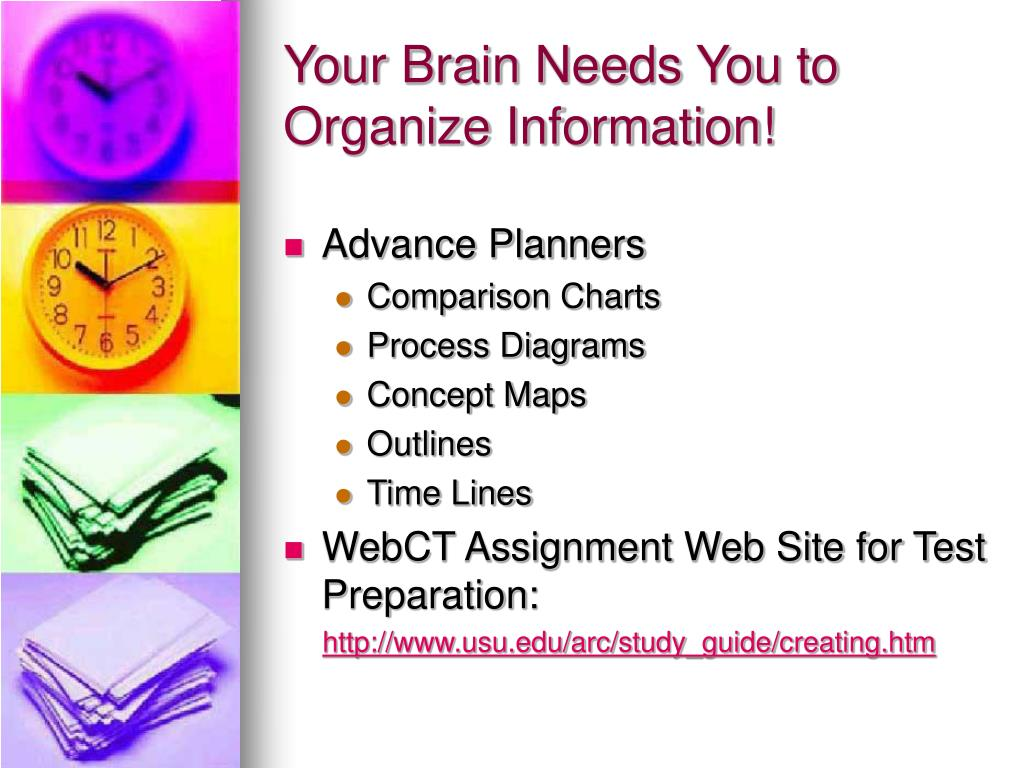 Your Brain Needs You to Organize Information!