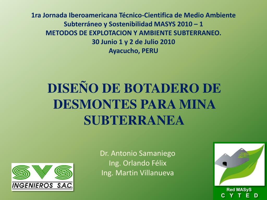 1ra Jornada Iberoamericana Técnico-