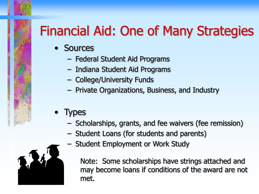 Financial Aid: One of Many Strategies