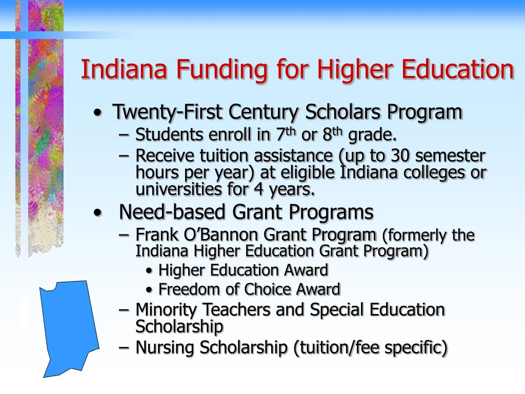 Indiana Funding for Higher Education