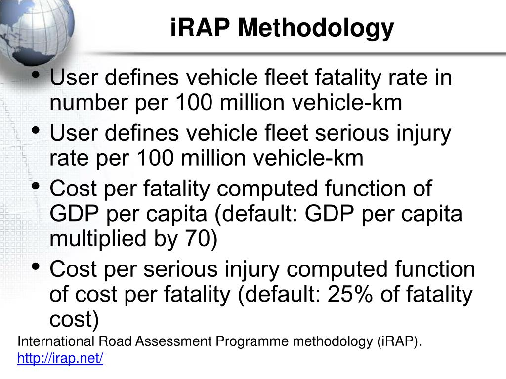 iRAP Methodology