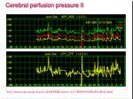 cerebral perfusion pressure ii