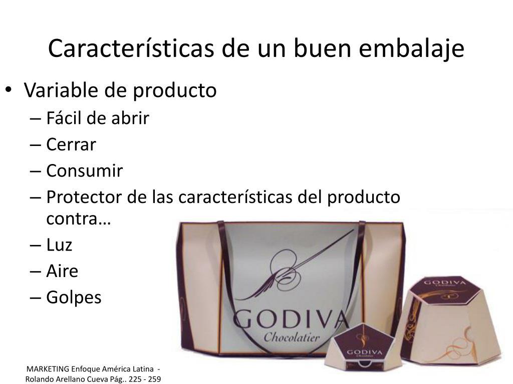 Características de un buen embalaje