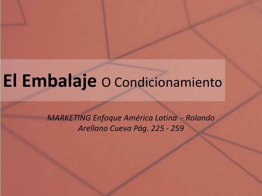 El Embalaje