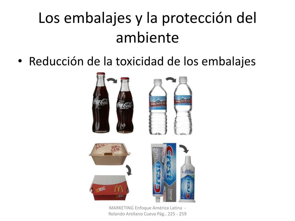 Los embalajes y la protección del ambiente