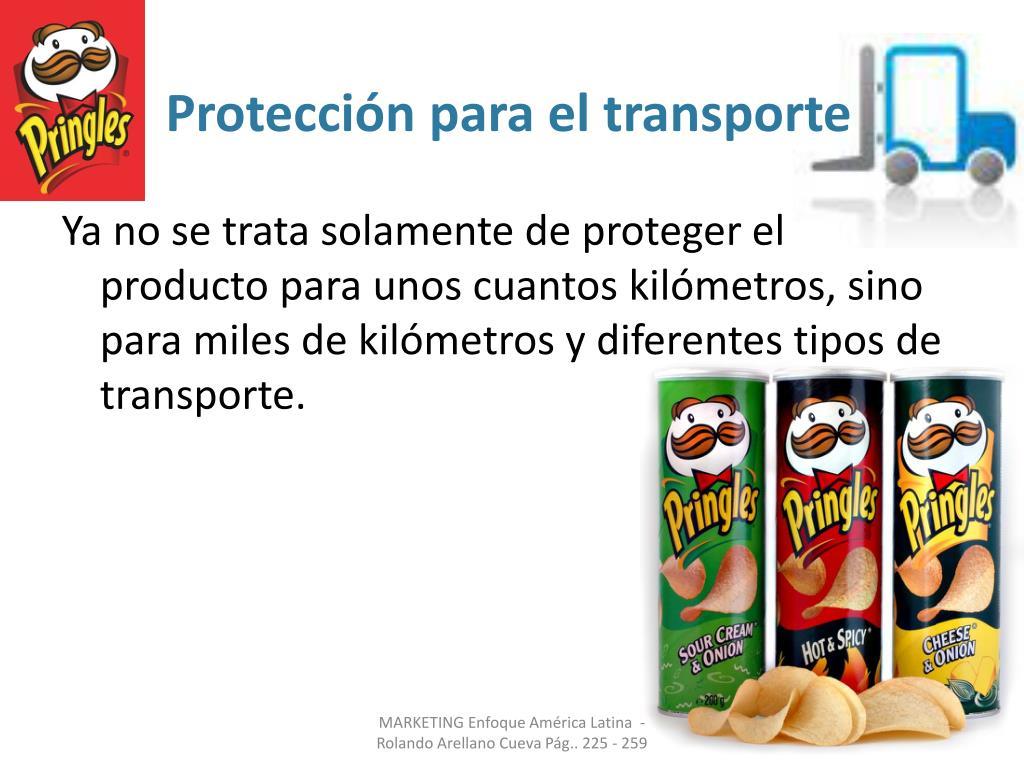 Protección para el transporte