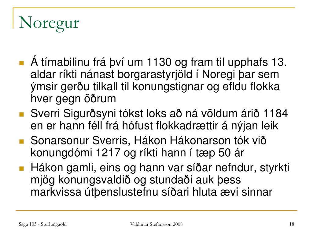 Noregur