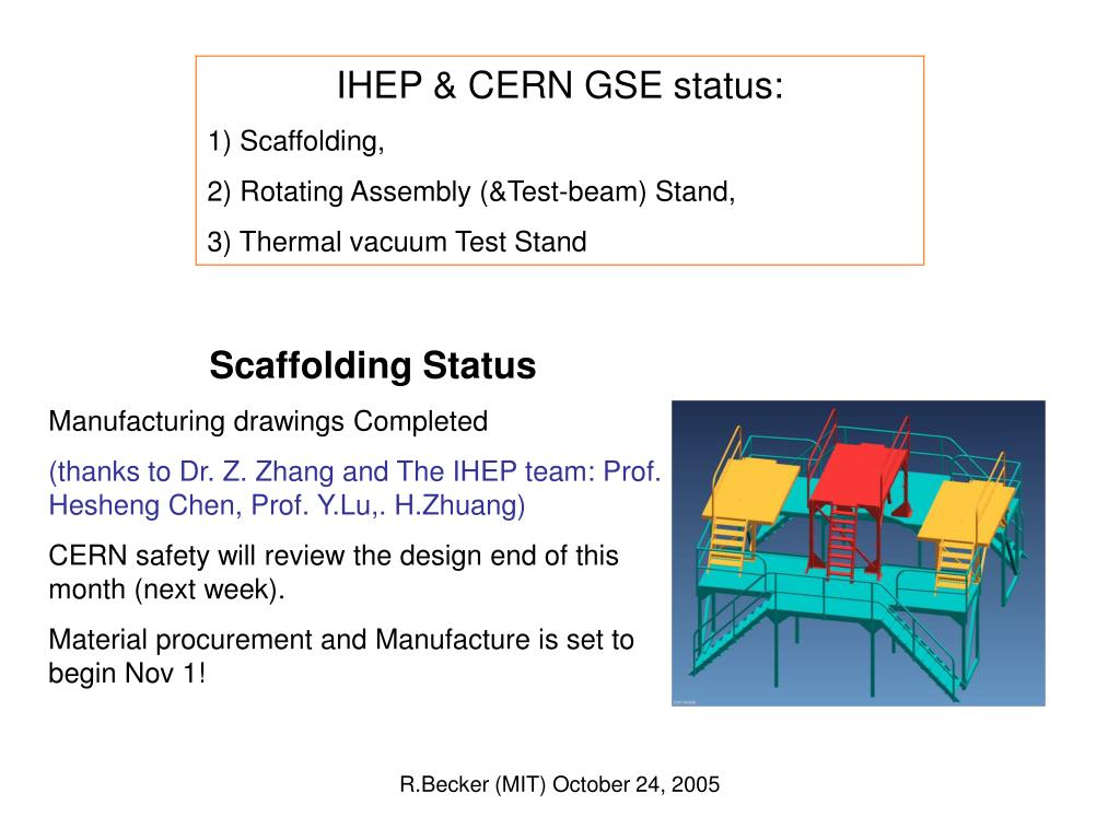 IHEP & CERN GSE status: