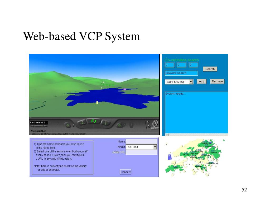 Web-based VCP System