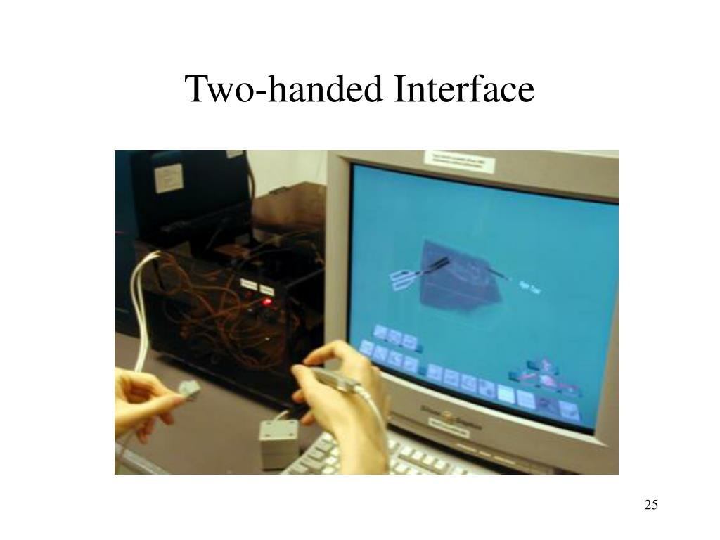 Two-handed Interface