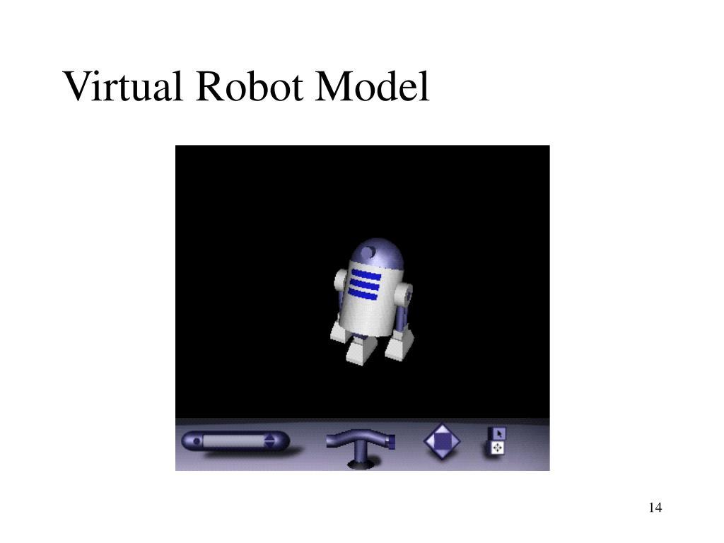 Virtual Robot Model