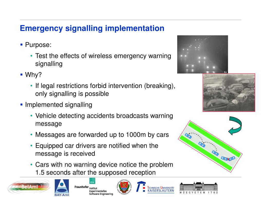 Emergency signalling implementation