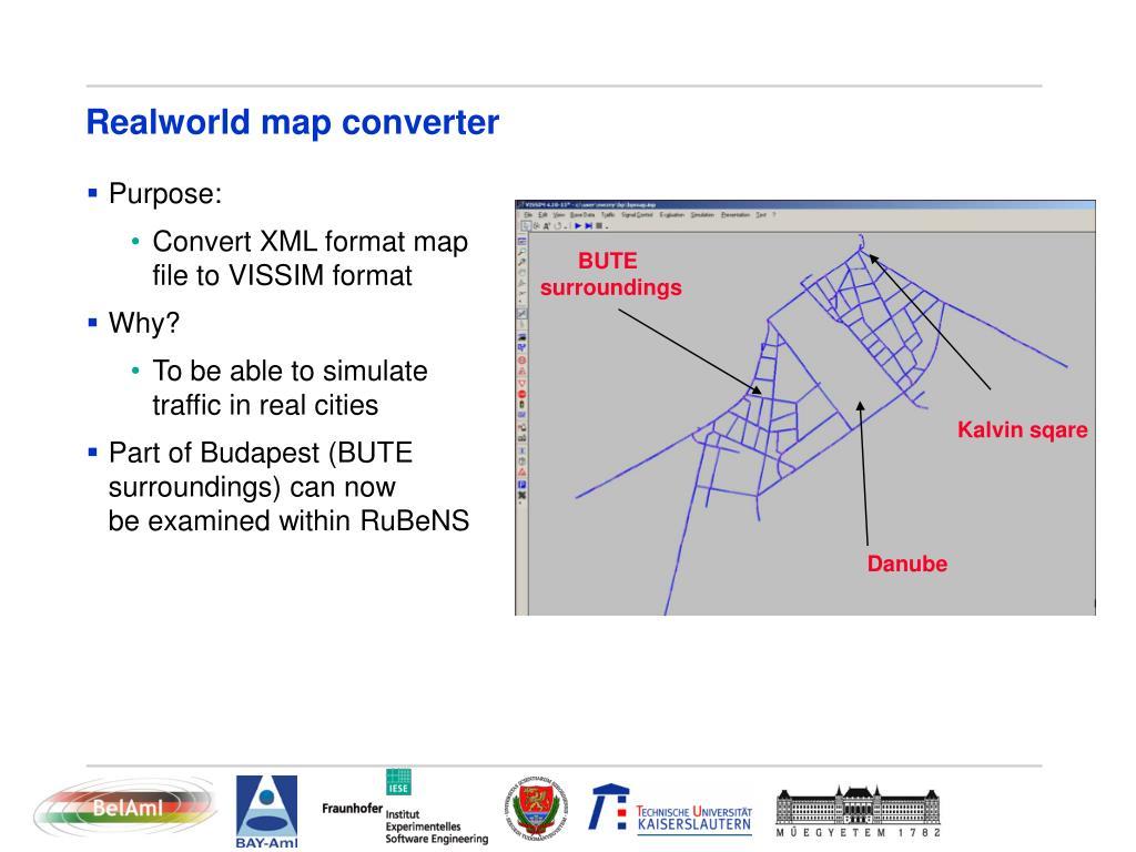 Realworld map converter