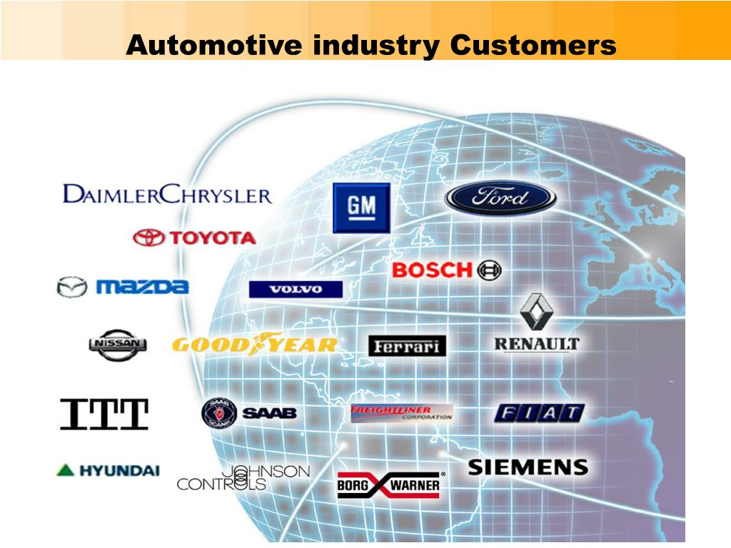 Automotive industry Customers