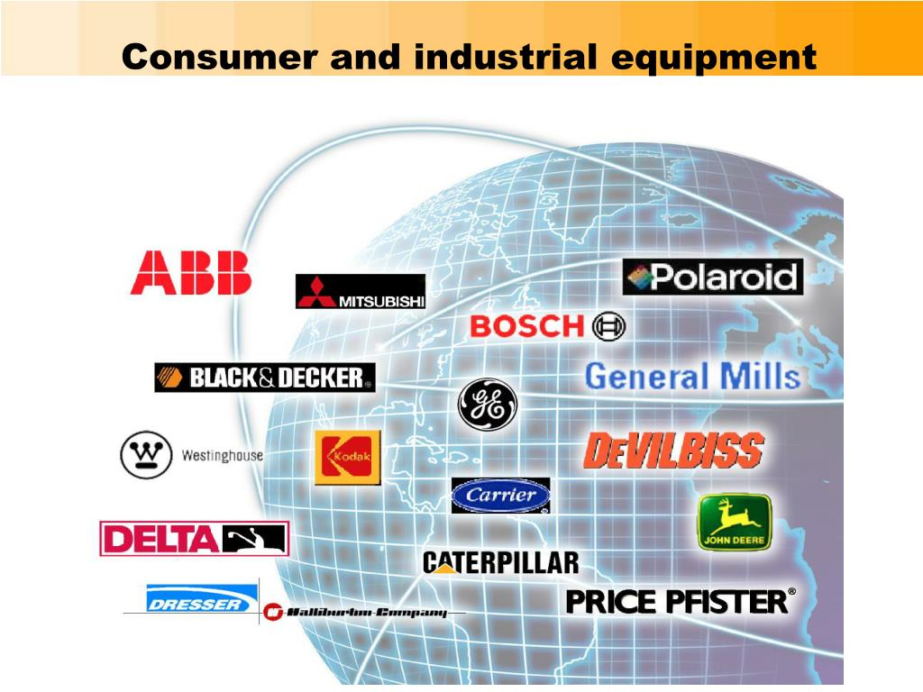 Consumer and industrial equipment