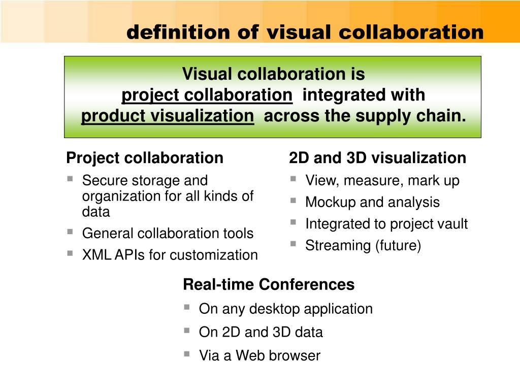 definition of visual collaboration
