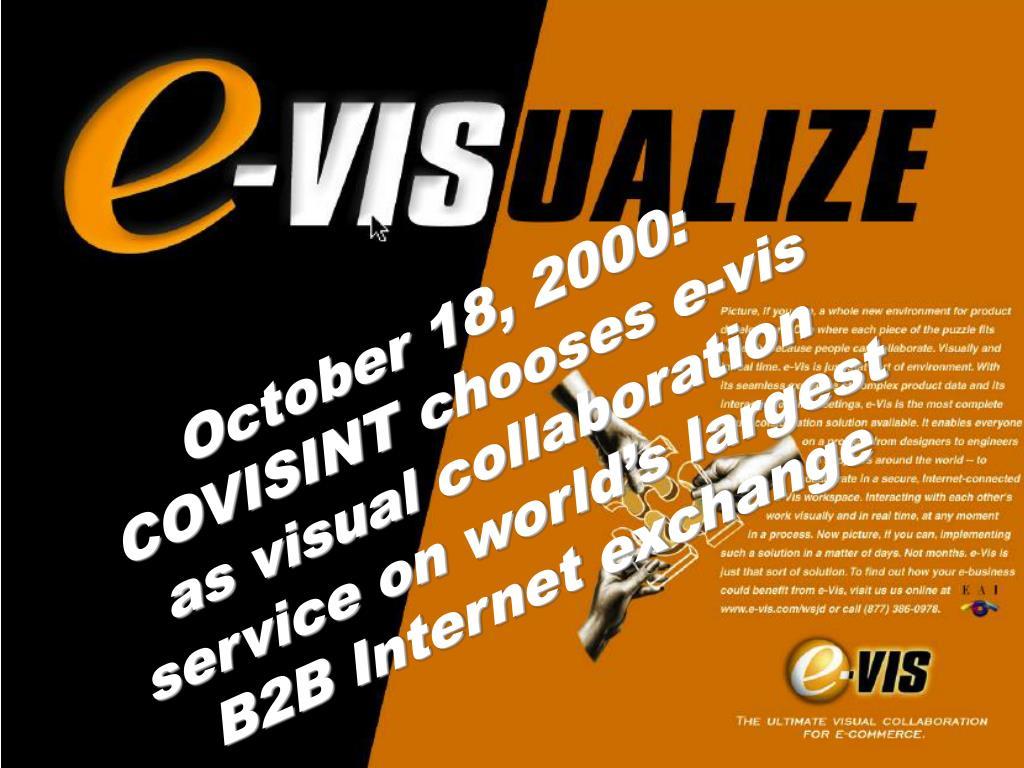 October 18, 2000: