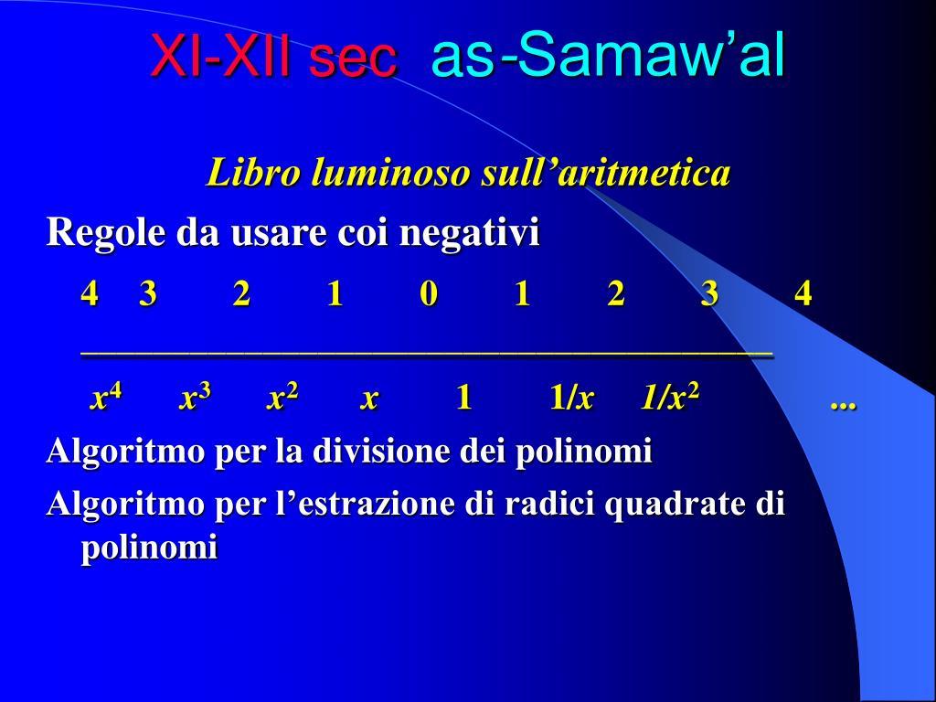 XI-XII sec