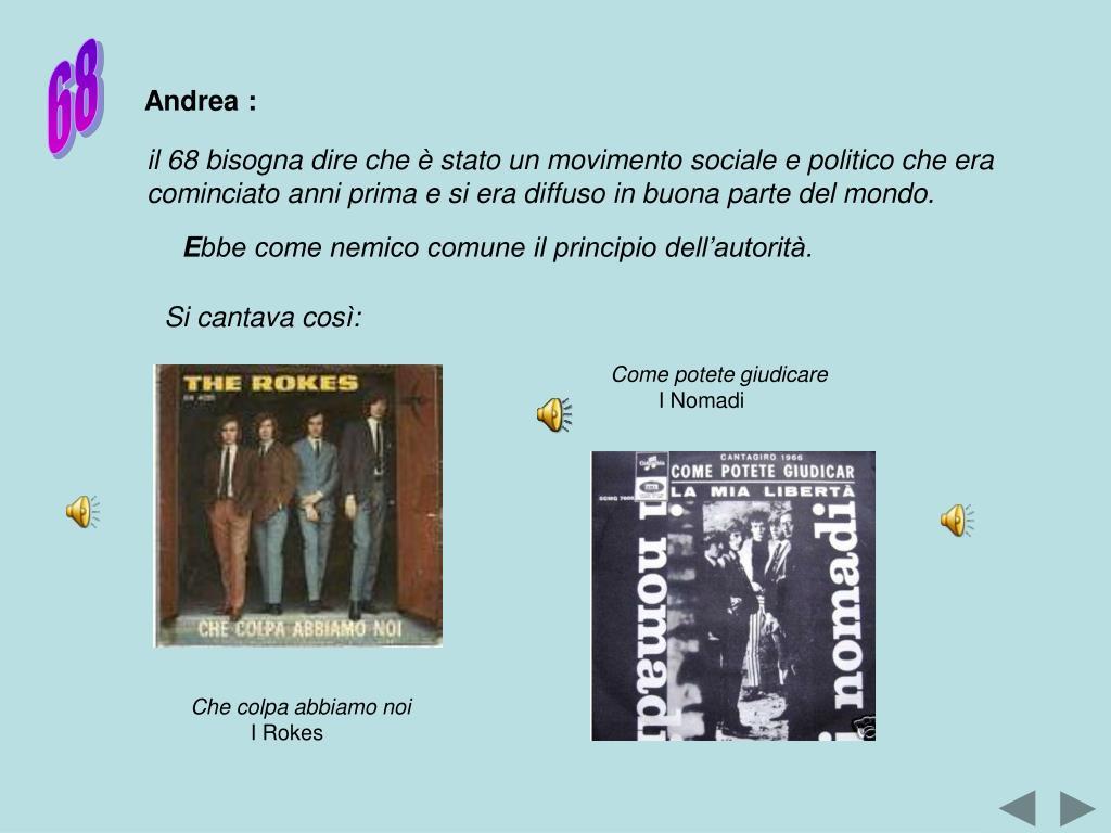 Andrea :