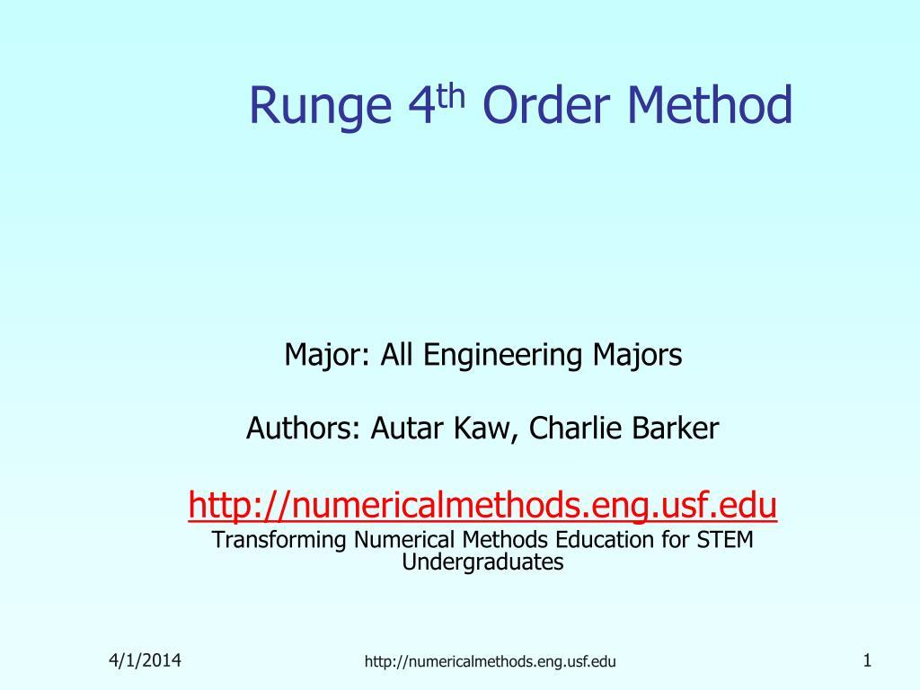 Runge 4