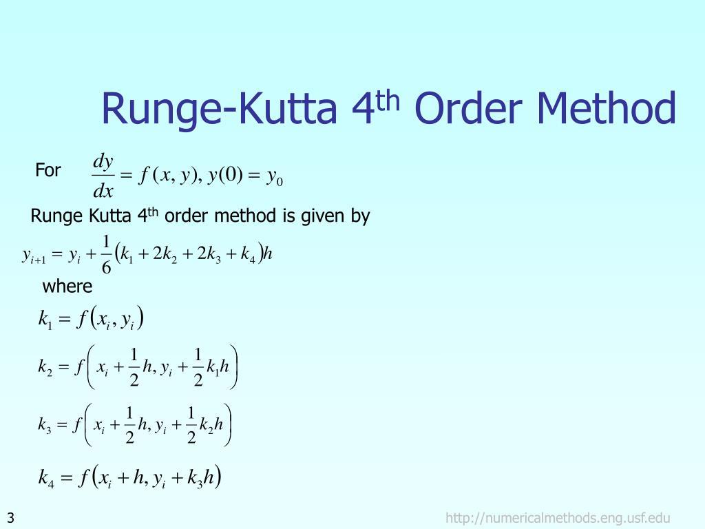 Runge-Kutta 4