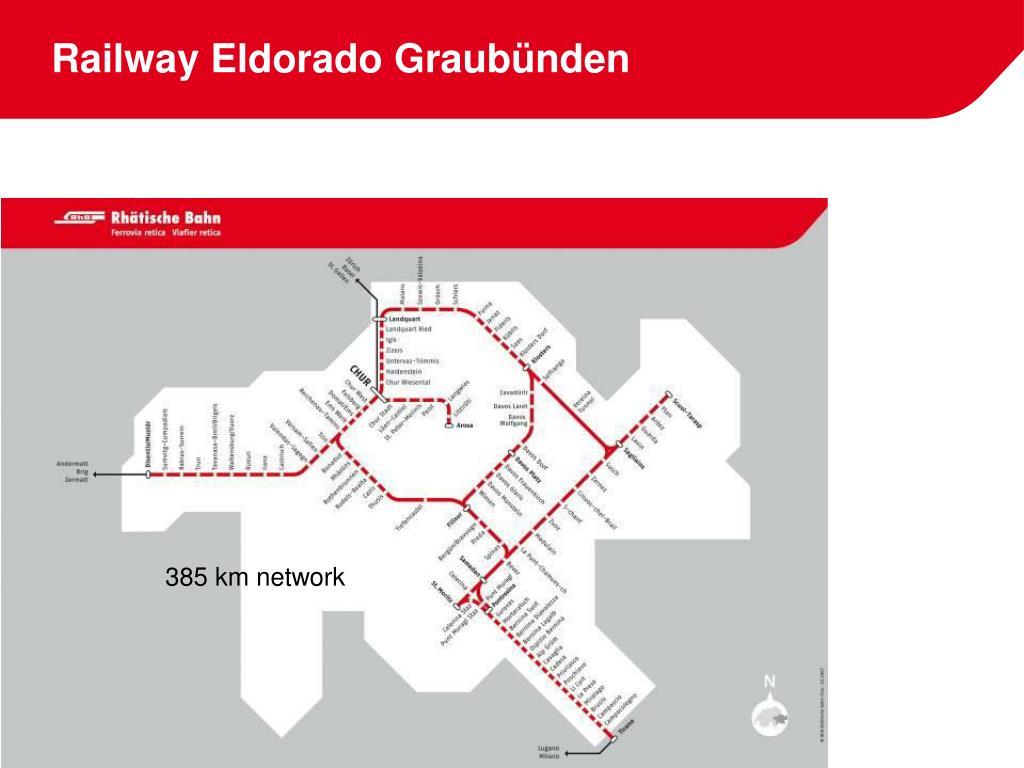 Railway Eldorado Graubünden