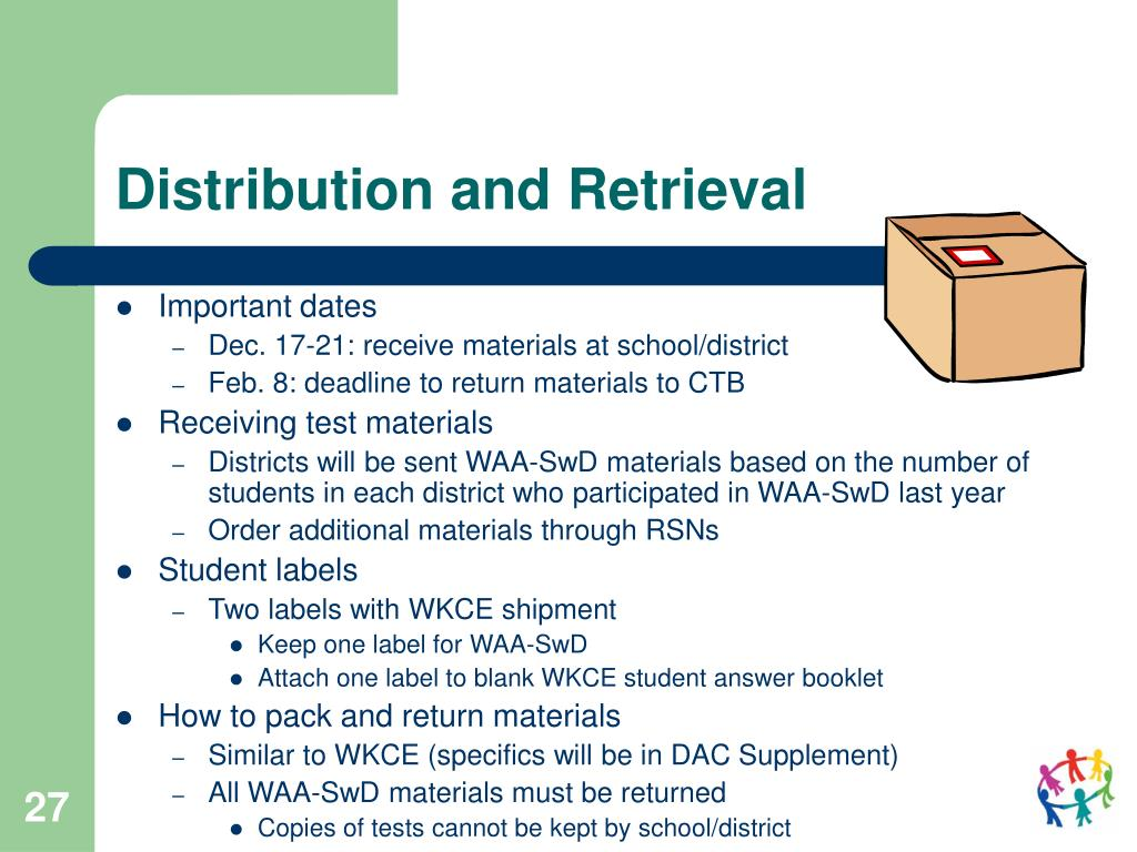 Distribution and Retrieval