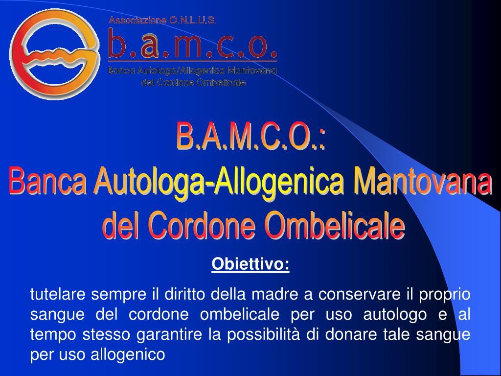 B.A.M.C.O.: