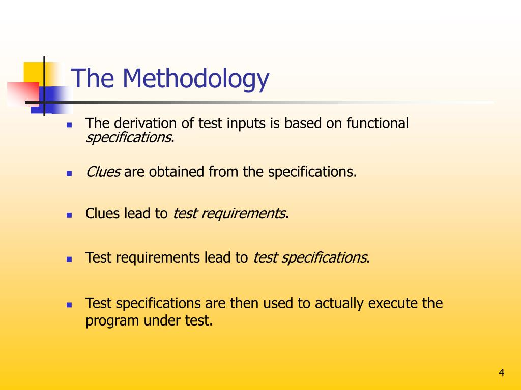 The Methodology