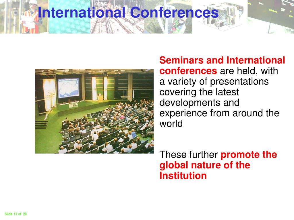 International Conferences