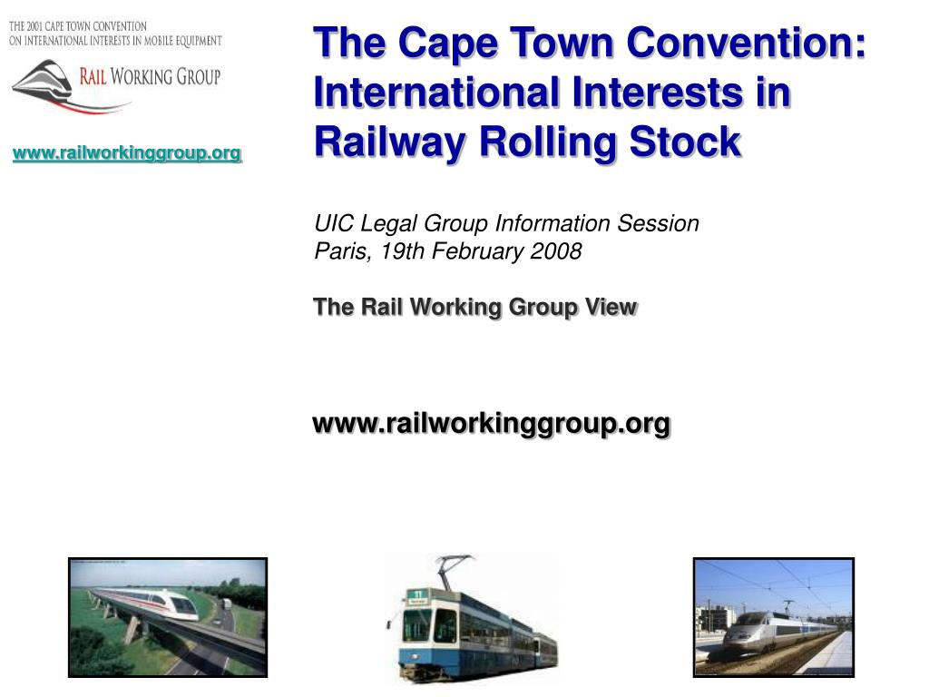 The Cape Town Convention: International Interests in