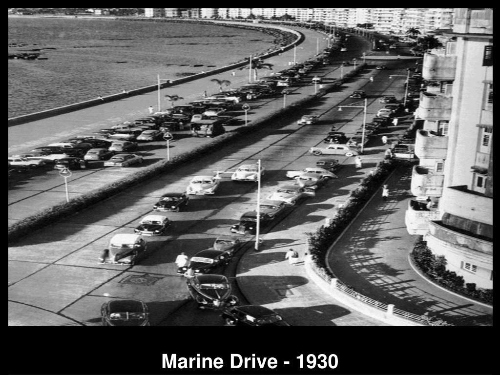 Marine Drive - 1930