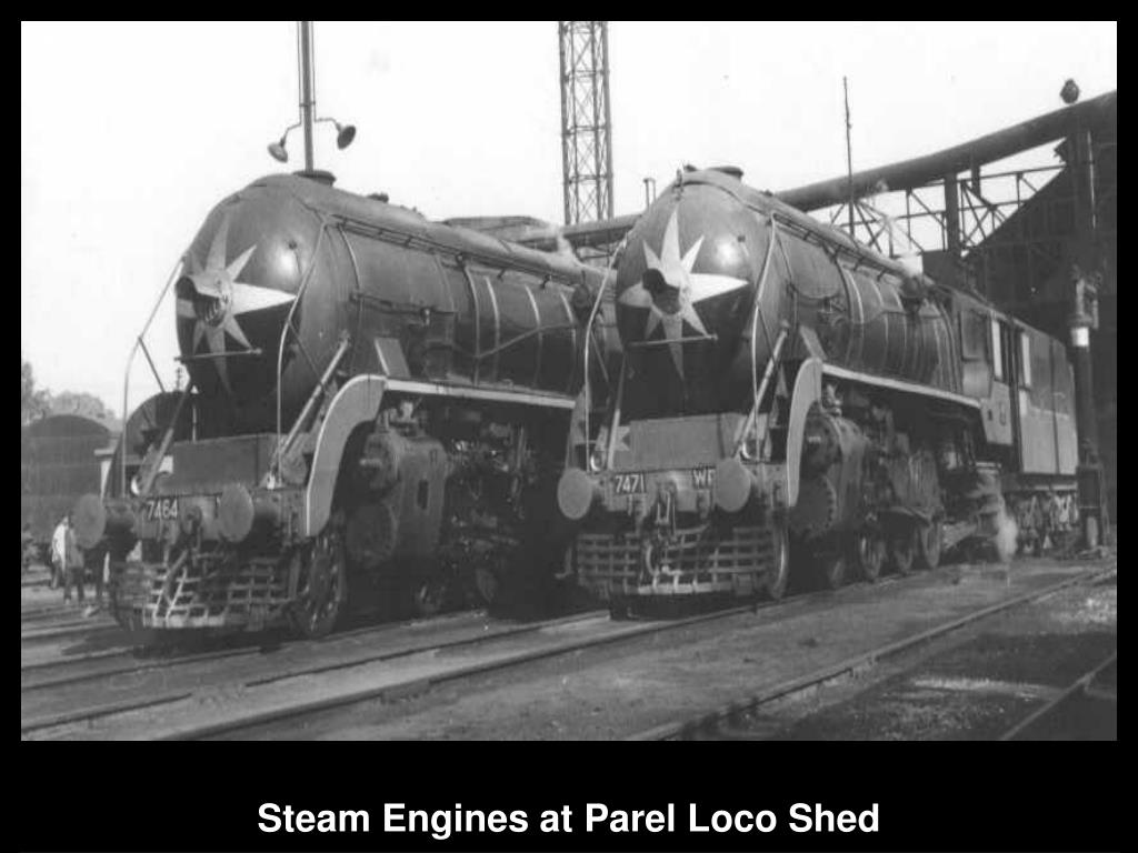 Steam Engines at Parel Loco Shed