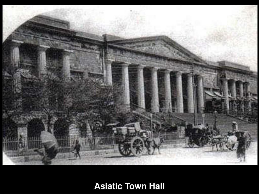 Asiatic Town Hall