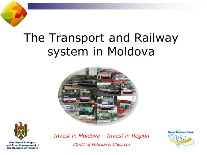 The Transport and Railway system in Moldova