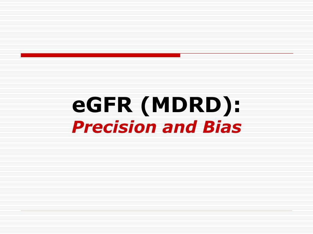 eGFR (MDRD):