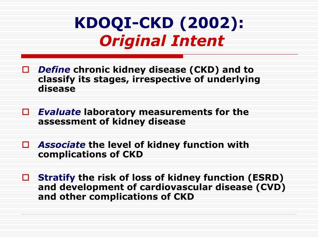KDOQI-CKD (2002):