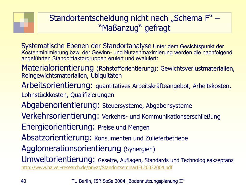 """Standortentscheidung nicht nach """"Schema F"""" – """"Maßanzug"""" gefragt"""