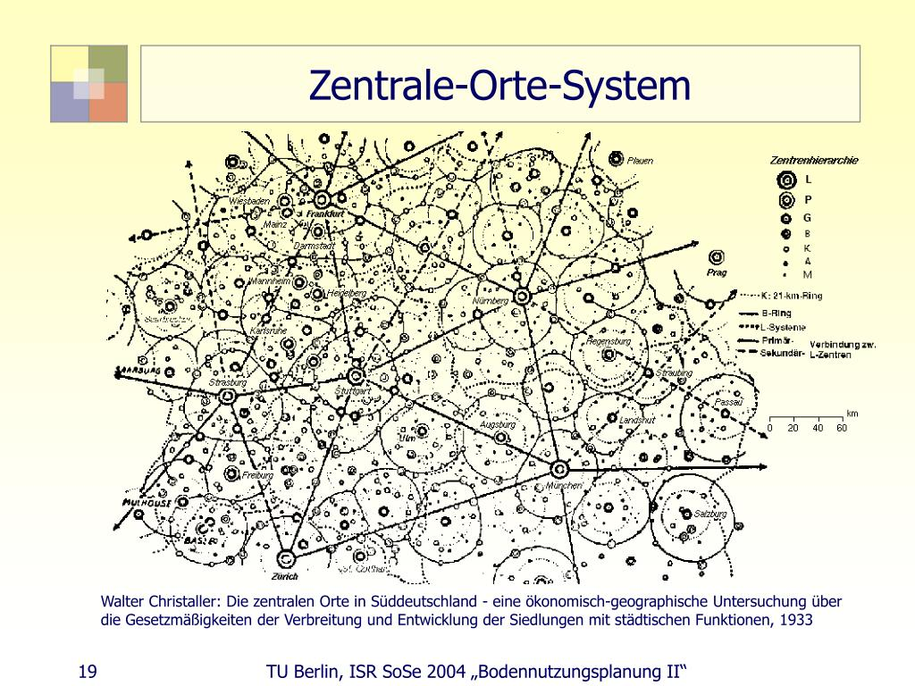 Zentrale-Orte-System