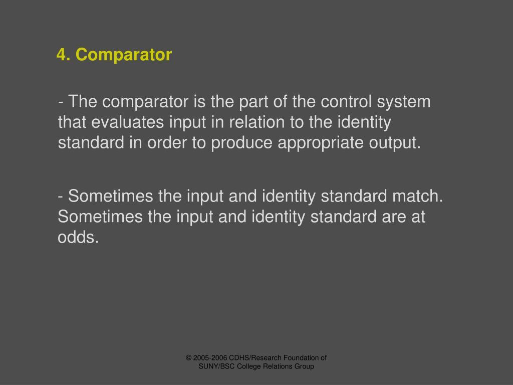 4. Comparator