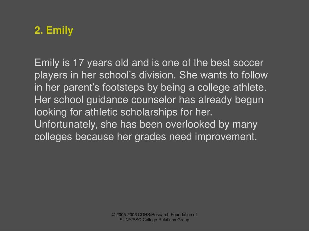 2. Emily
